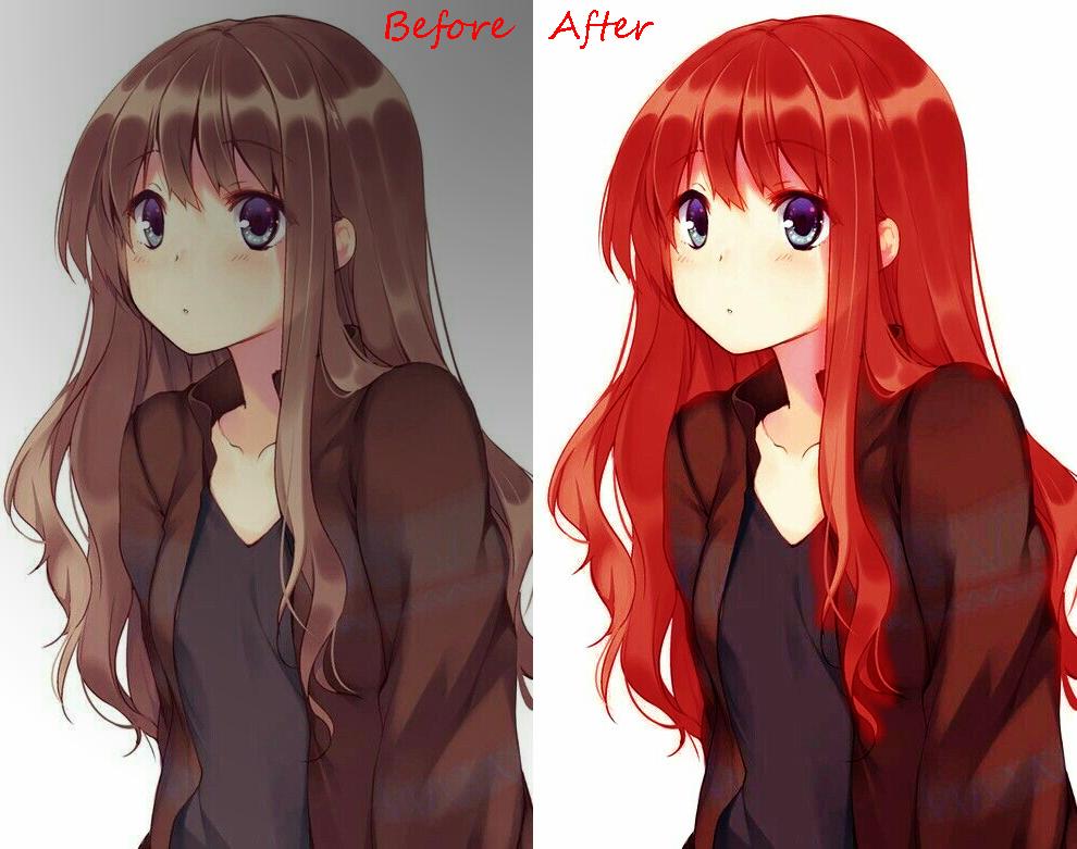 Hướng dẫn đổi màu tóc cho nhân vật trong Adobe Photoshop