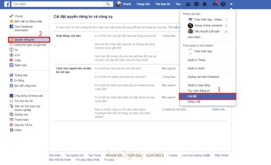 Hướng dẫn chia sẽ bài viết công khai trên facebook