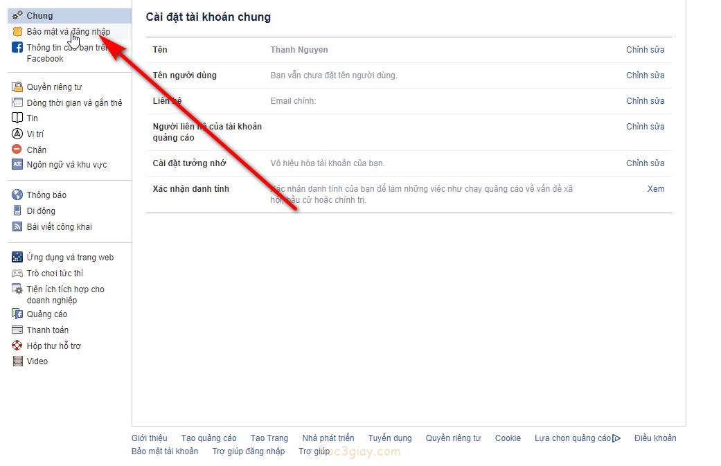 Check tài khoản facebook có bị đăng nhập từ người khác