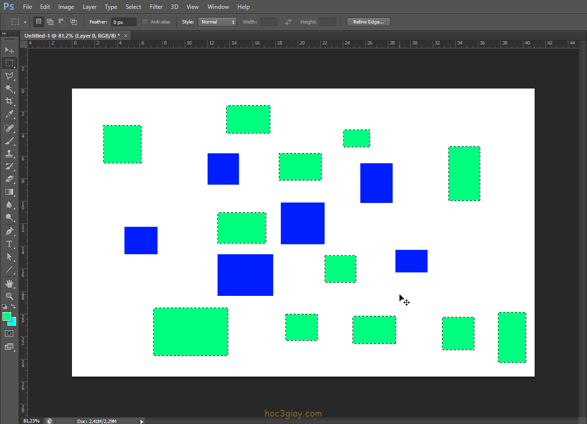 Hướng dẫn tạo vùng chọn tùy biến theo màu sắc trong photoshop