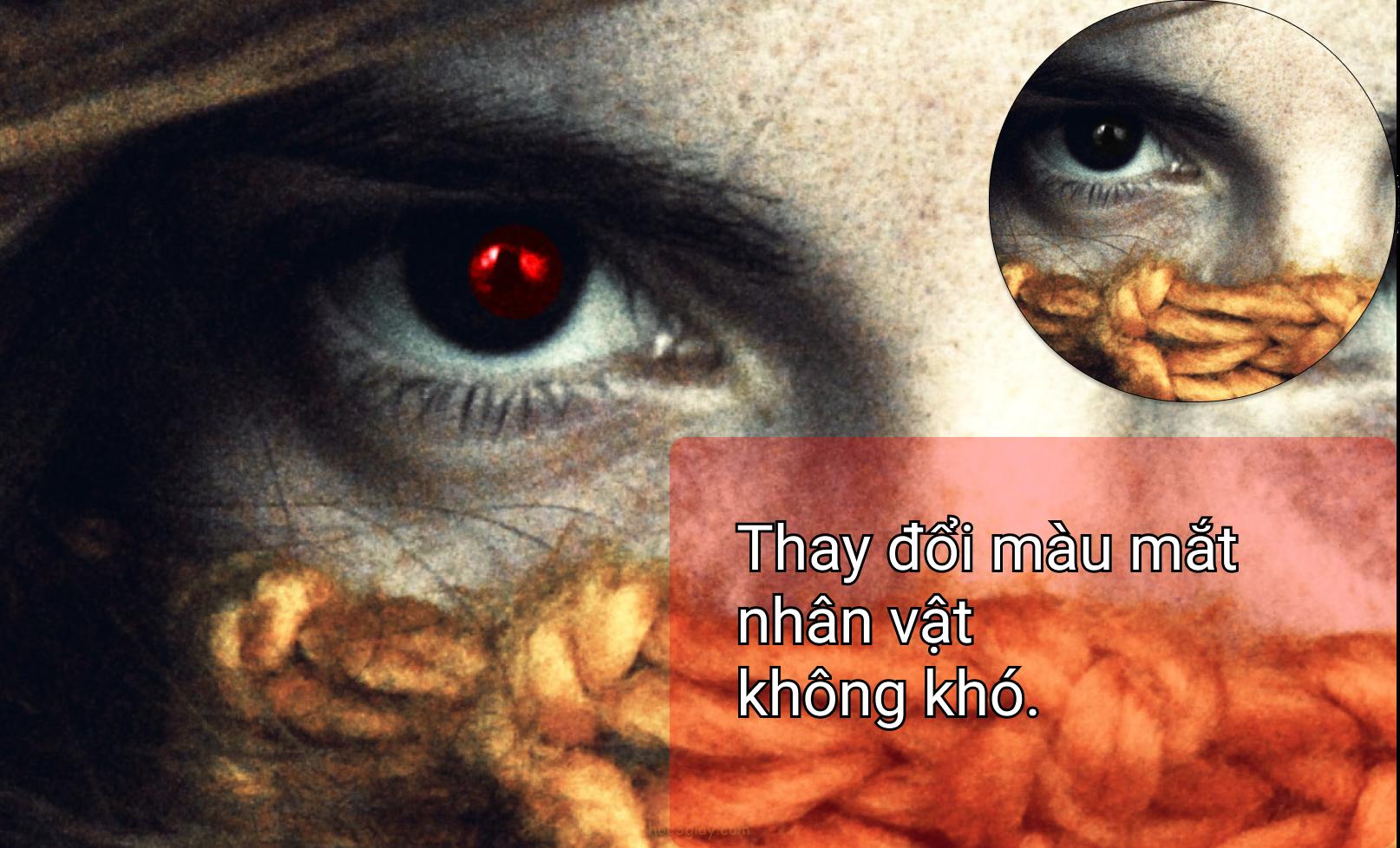 Hướng dẫn thay đổi màu mắt theo ý thích bằng photoshop