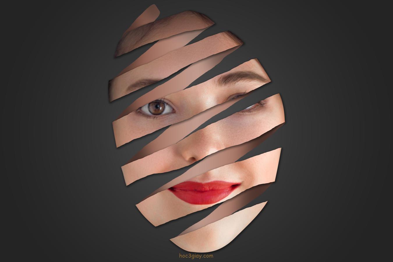 Hiệu ứng bóc mặt siêu đẹp | Hướng dẫn Photoshop