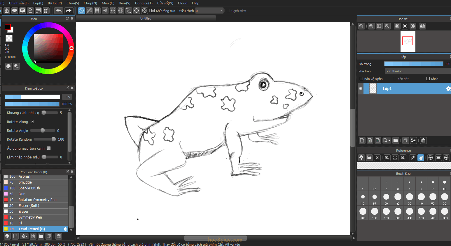 Hướng dẫn vẽ ếch sống động và đẹp mắt